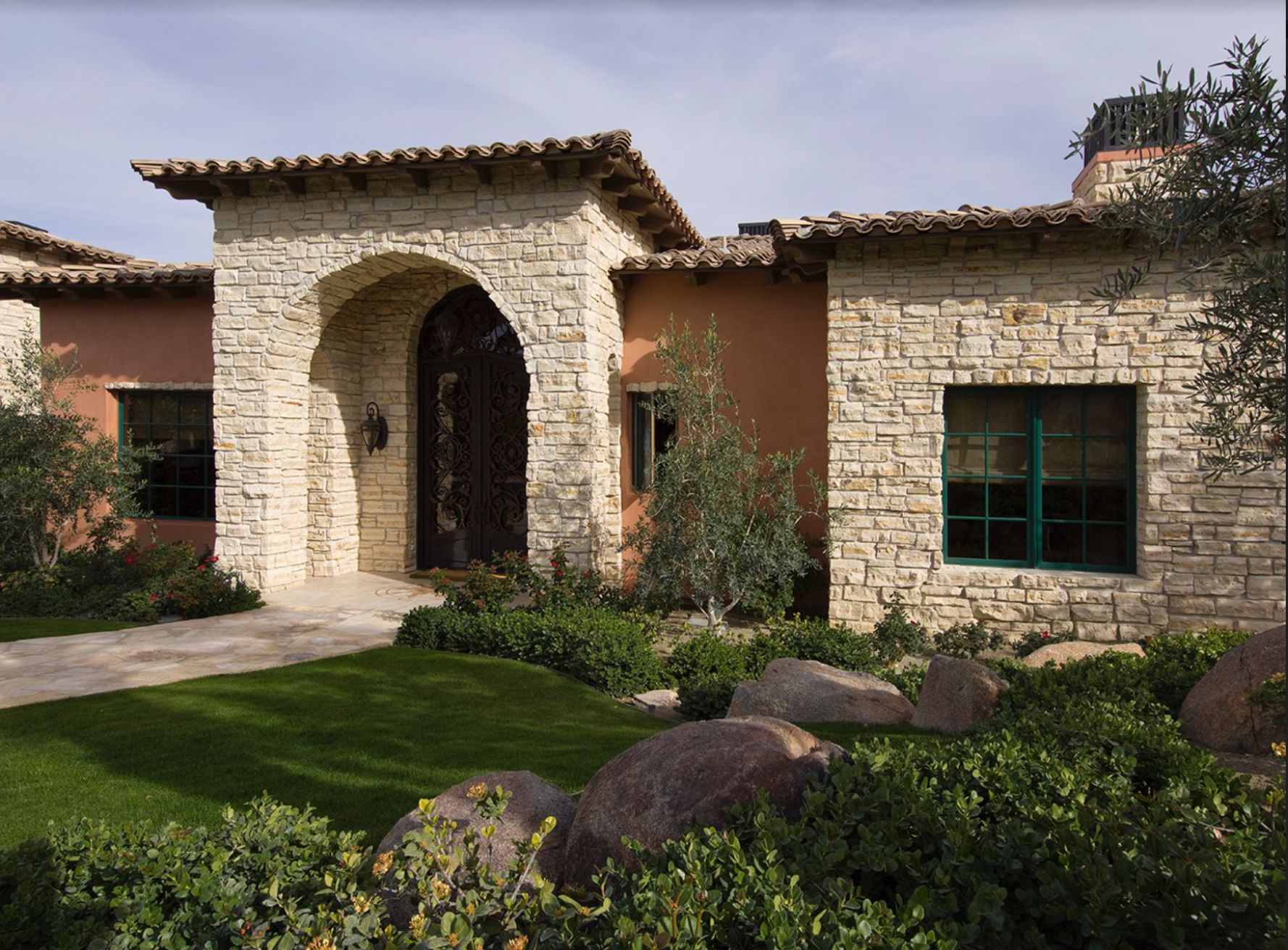 You'll want to work with an experienced architect or contractor to avoid that stone stick-on look of early aughts McMansions, but adding some stone to your home's exterior is a great way to add style and texture.