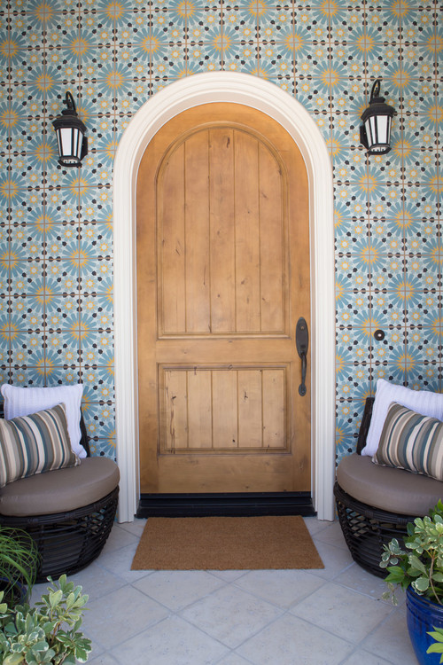 Tile Your Doorstep, or Your Door, Walkways, and Patios