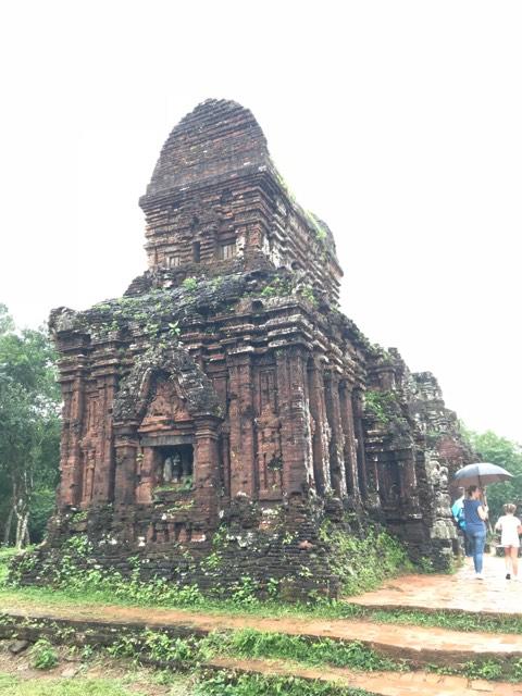 MySon Hindu-inspired temple near Hoi An