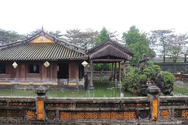 """""""Purple City"""" The emperor's residence in the Imperial City in Hue"""