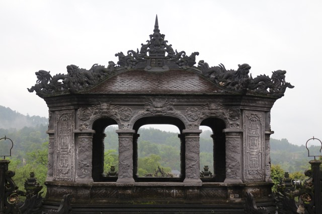Monk's house at Thien Mu in Hue