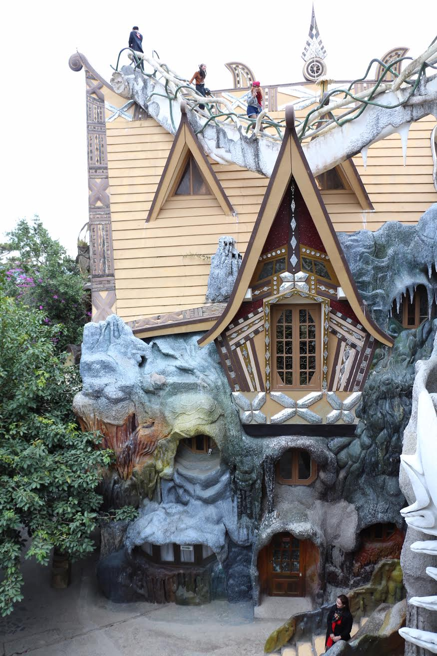 """This massive residence, now an operational hotel with 10 rooms, is known colloquially as """"The Crazy House."""""""