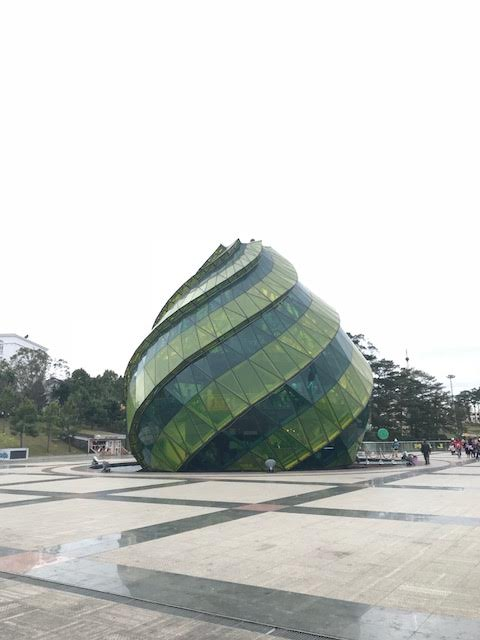 Urban Buildings In Vietnam Vietnamese architects often try to bring a bit of nature into Vietnam's urban environments: As in these buildings inspired by lotus flowers and tulips.
