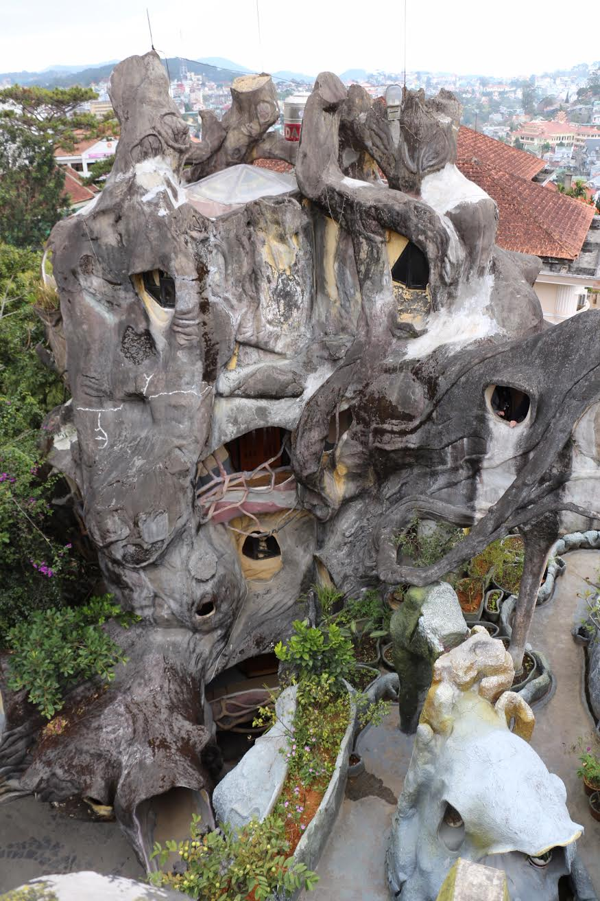 Crazy House in Vietnam