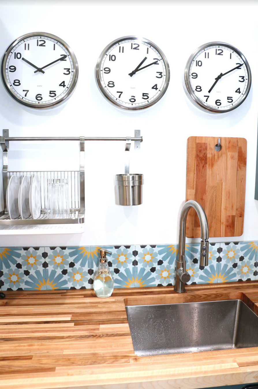 Kitchen Detail in vacation rental
