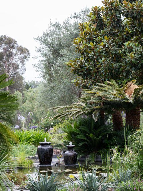Landscape architecture in Lemon Ranch backyard