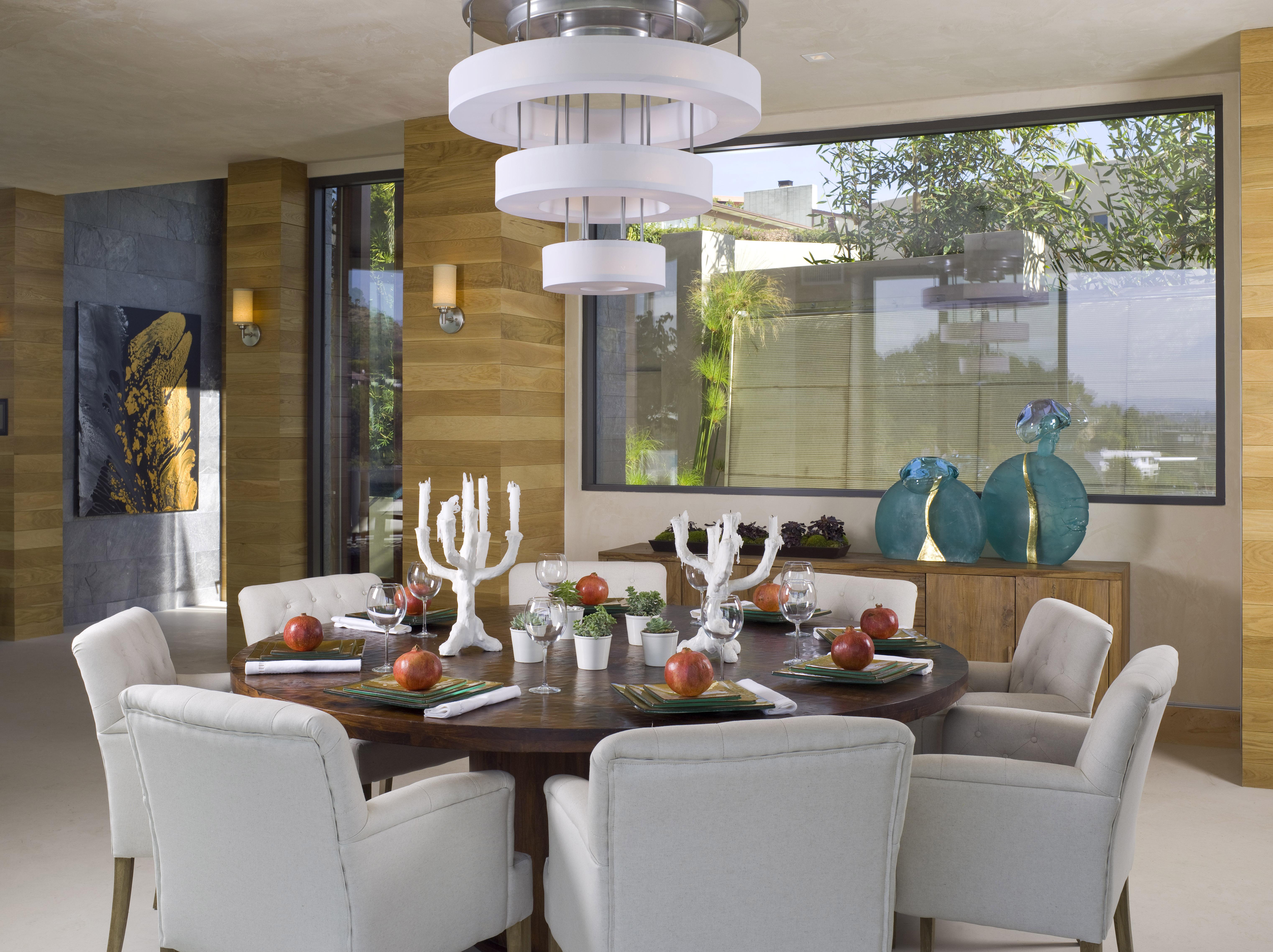 Modern Hollywood Hills Dining Room