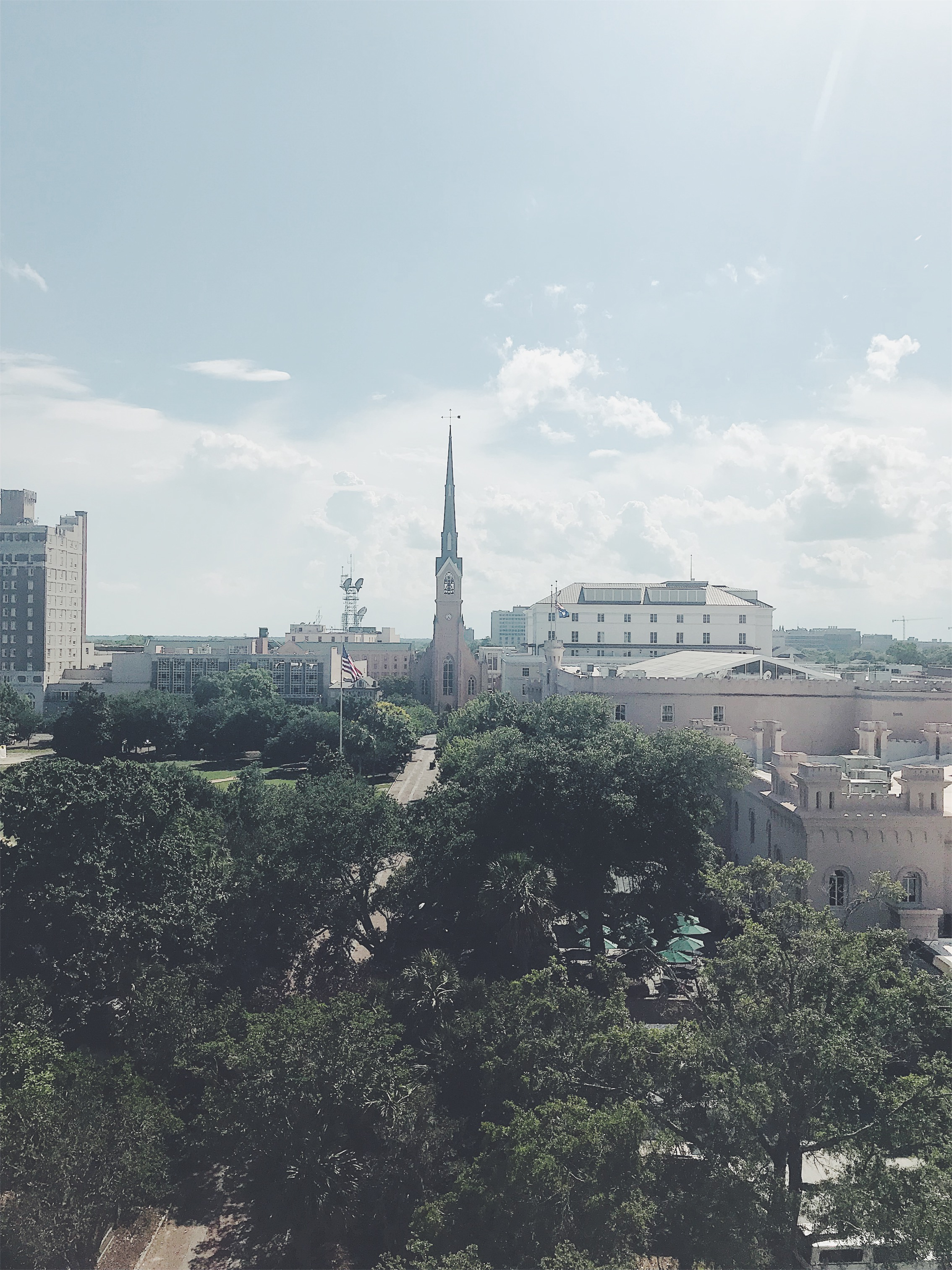 Church views in charleston