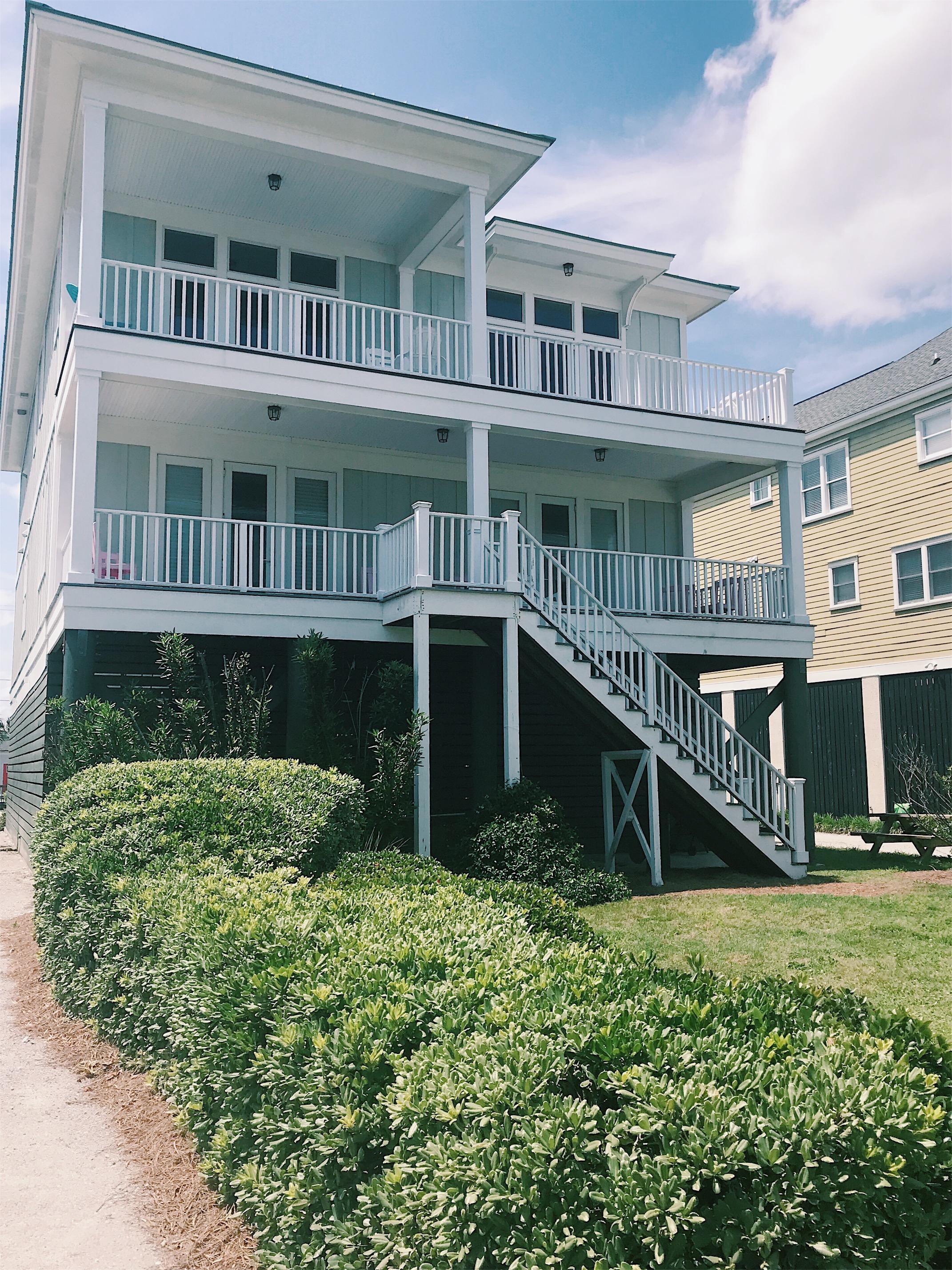 teal beach house folly