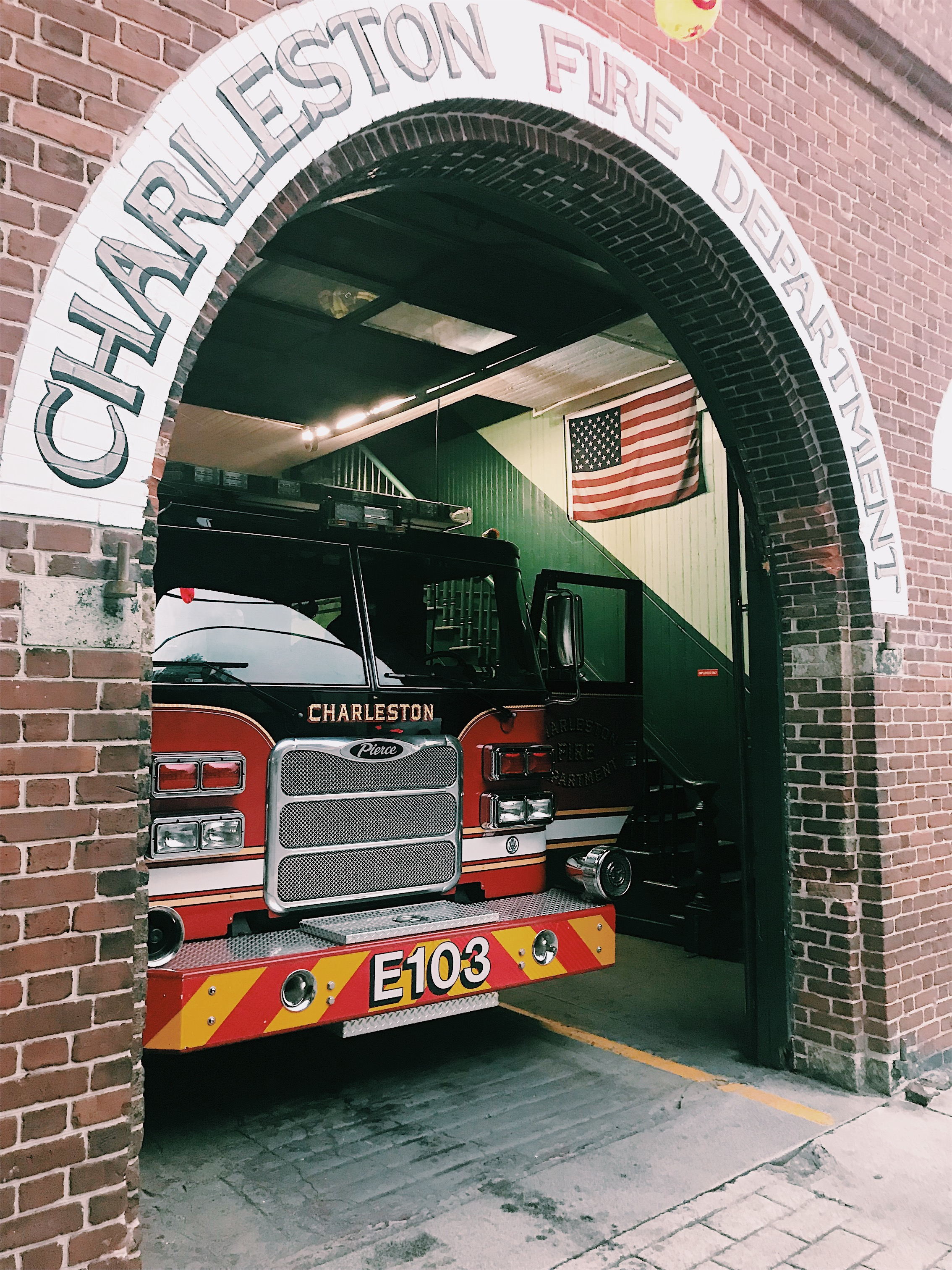 charleston fire station