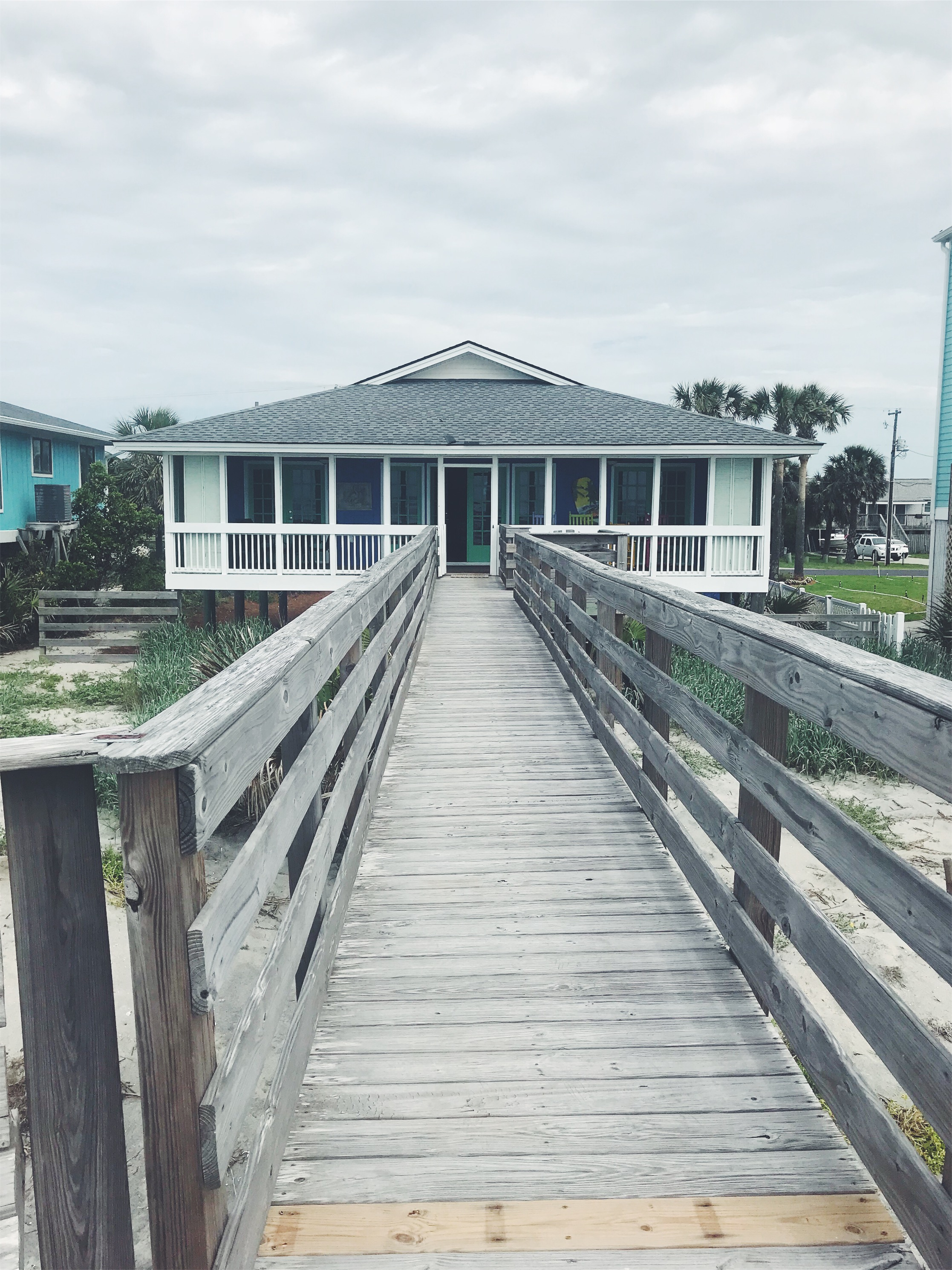 dock in folly beach house