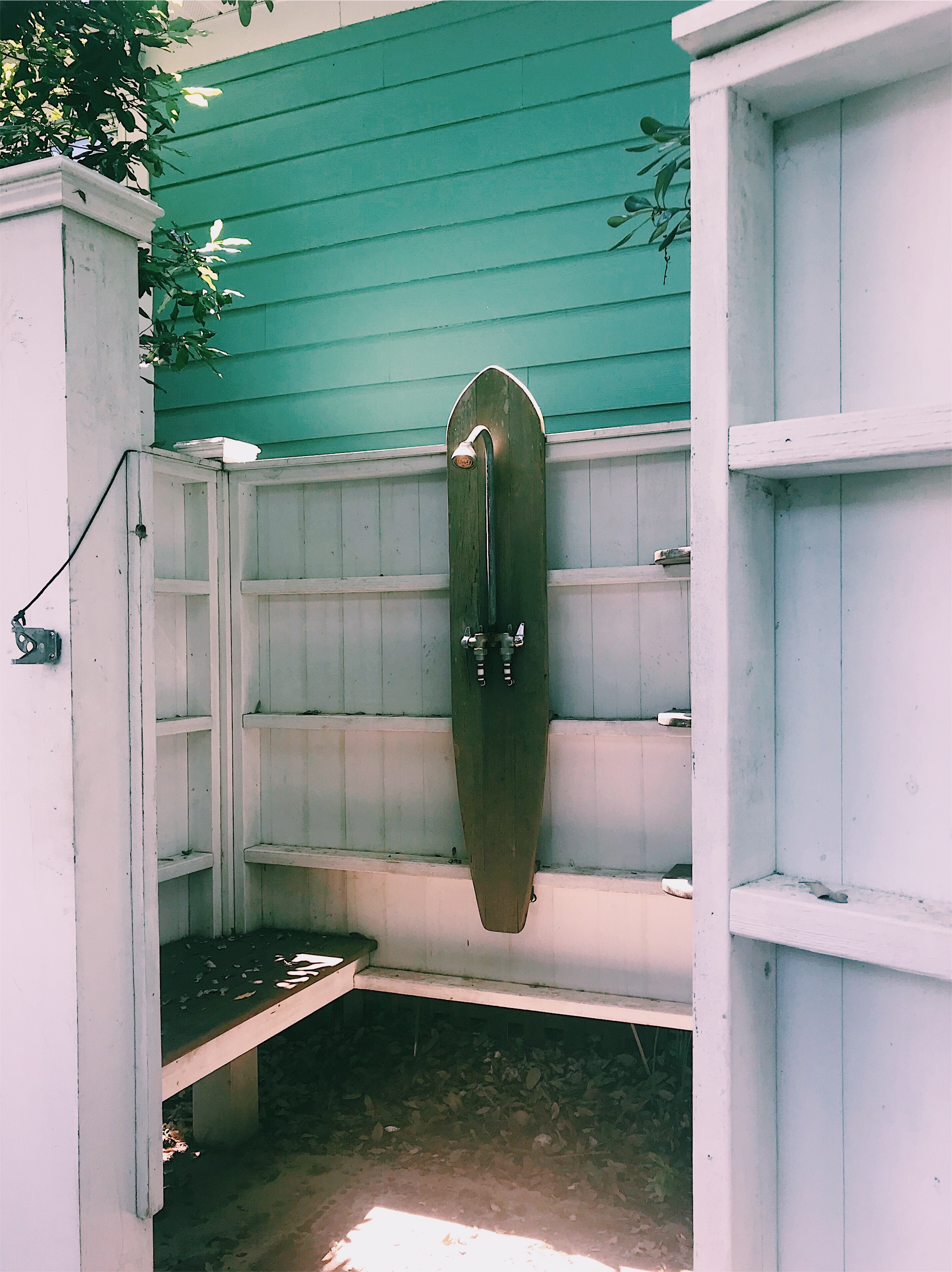 Outdoor Shower at Folly Beach House