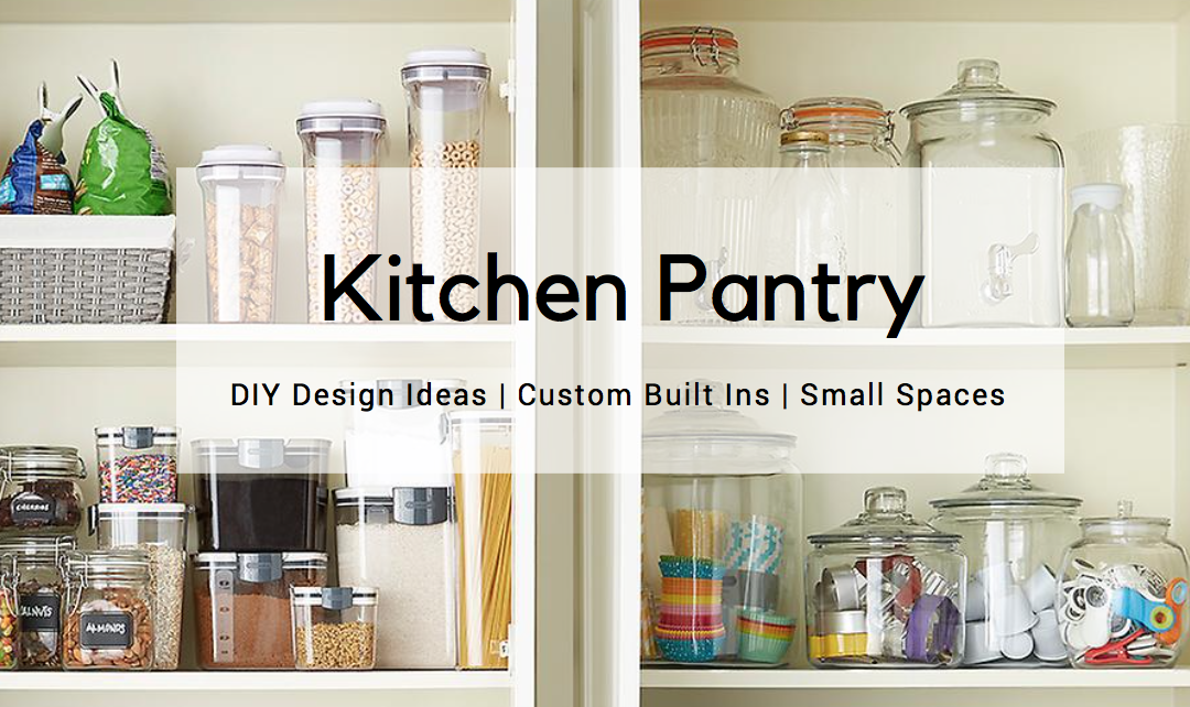 DIY Kitchen Pantry Design Ideas