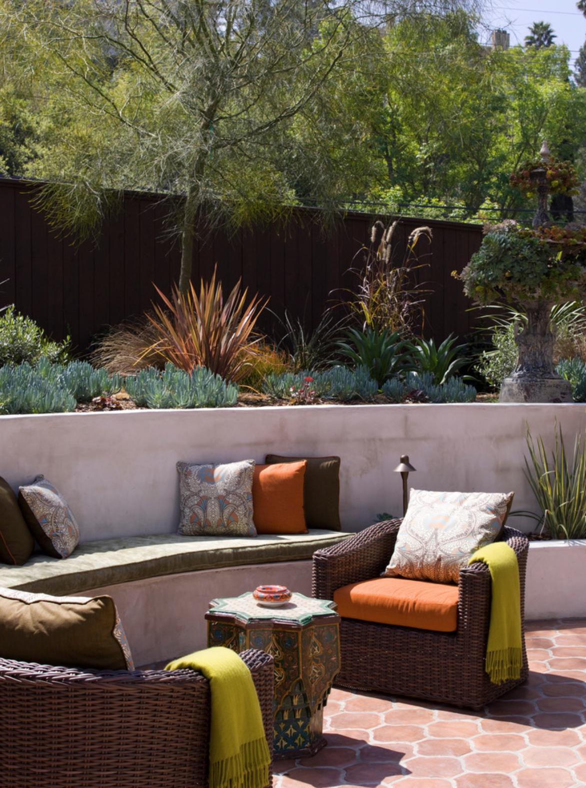 Outdoor Patio in Los Angeles home