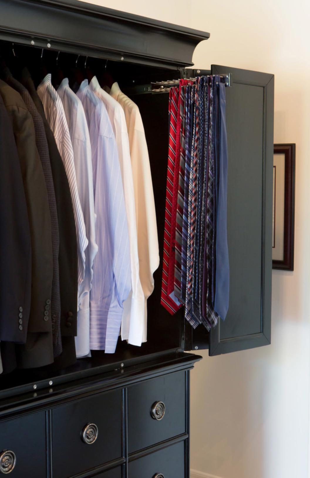men's Closet Neck Tie Hanger
