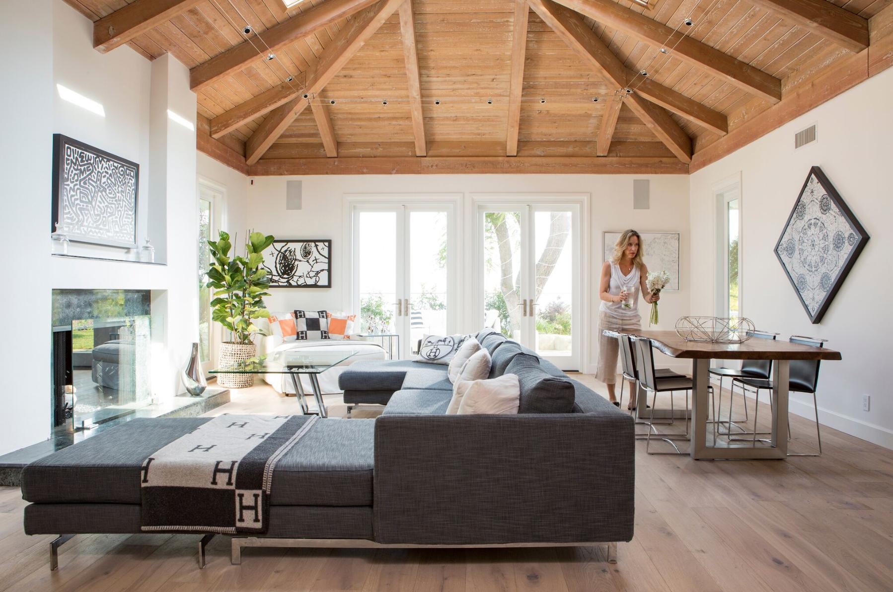 celebrity homes - lori dennis designs lisa chiangs bel air mansion