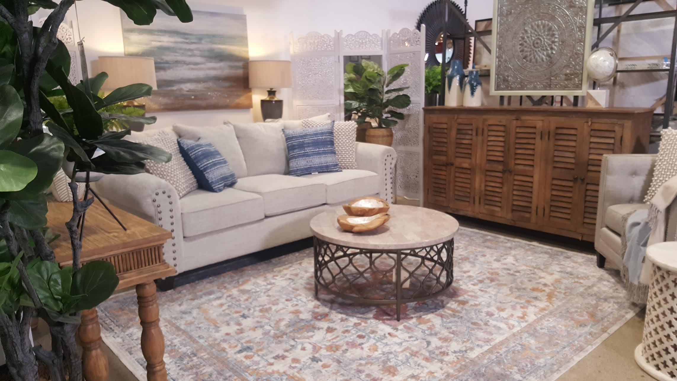 Lori Dennis Coastal Design for Jerome's Furniture