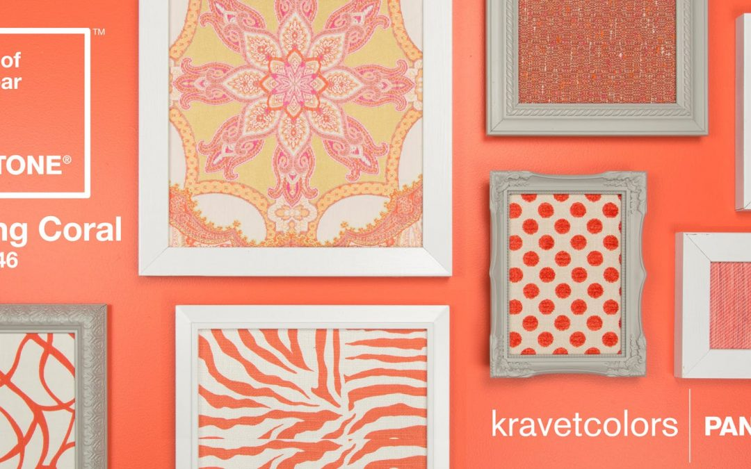 ANNOUNCING THE PANTONE COLOR OF THE YEAR 2019:  PANTONE 16-1546 Living Coral