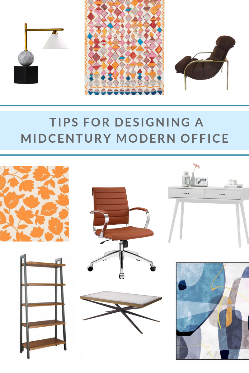 TIPS FOR DESIGNING A MIDCENTURY MODERN OFFICE