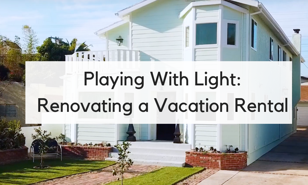 Playing With Light: How a Coat of White Paint and Updated Lighting Fixtures Transformed Our Rental Property