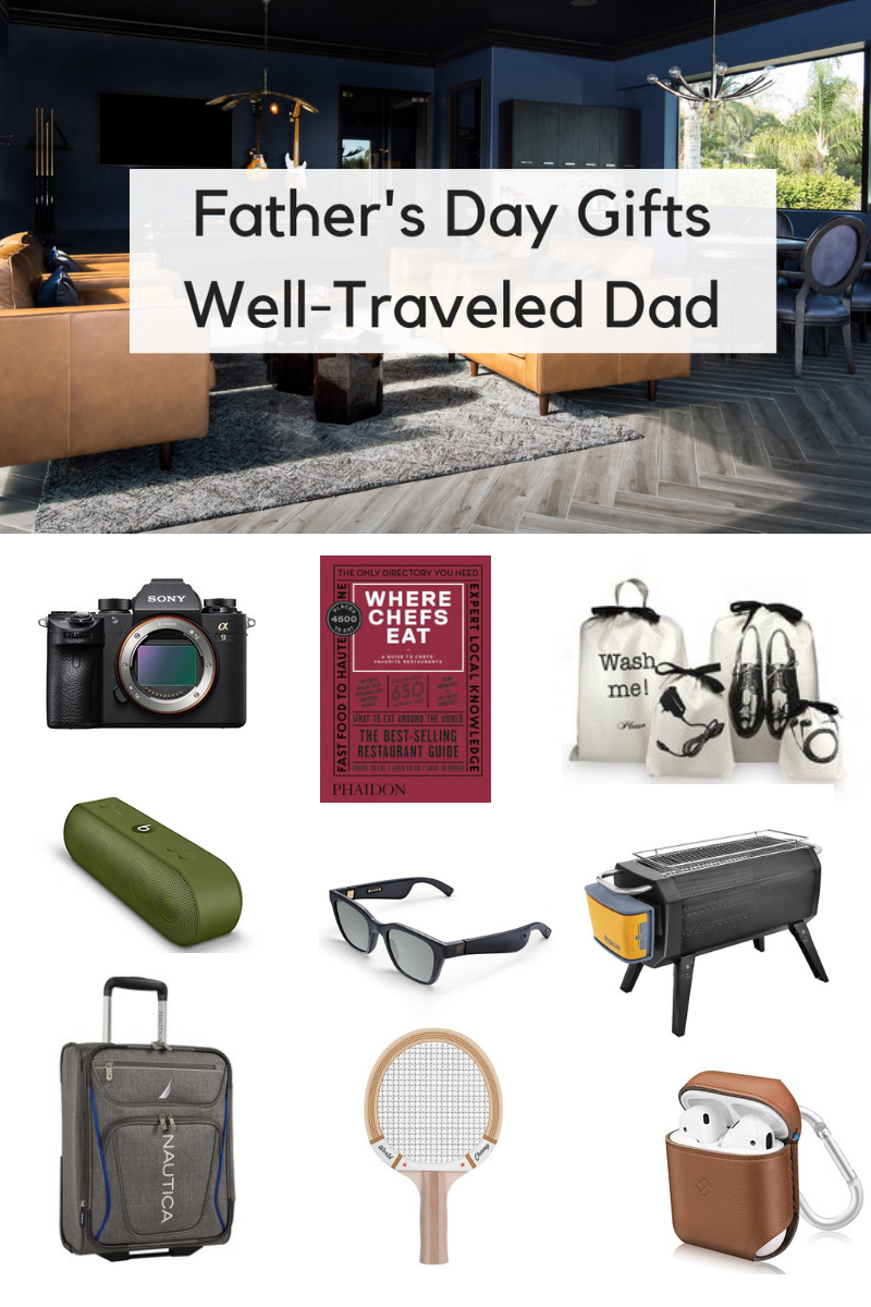 Father's Day Gifts for the Dad Who Travels
