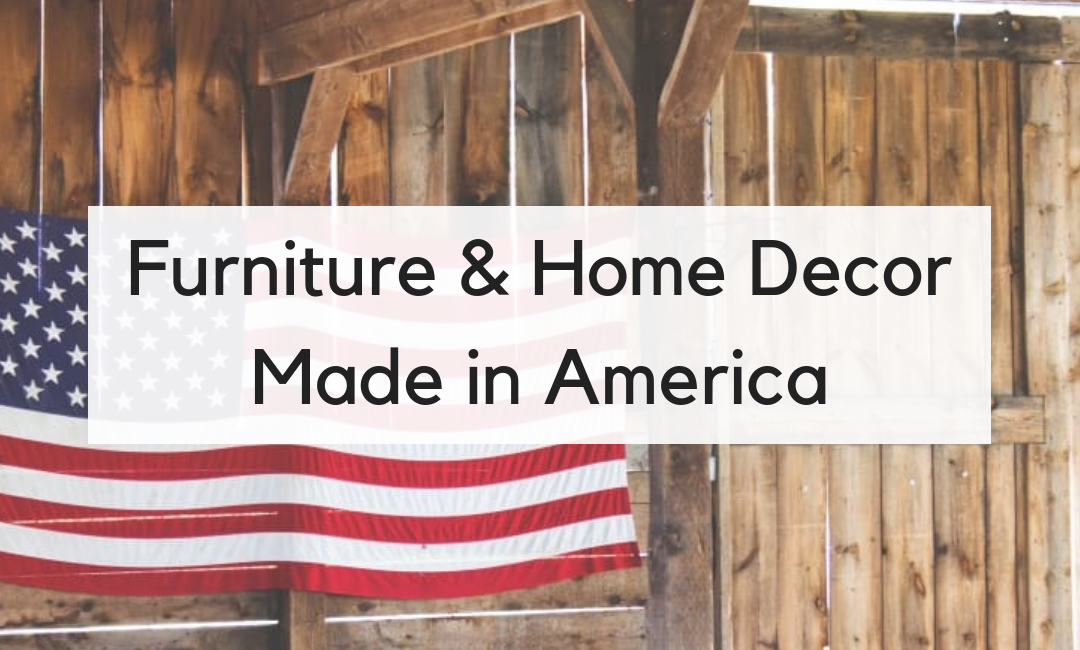 The Best Furniture Made in America