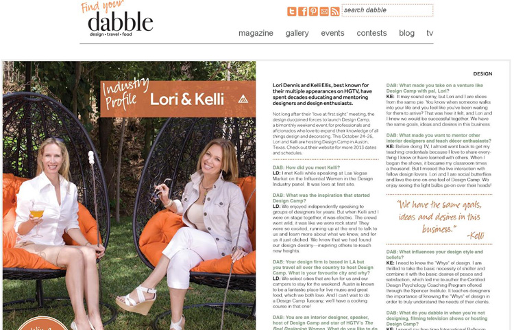 Celebrity Interior Designer Lori Dennis Dabble Magazine