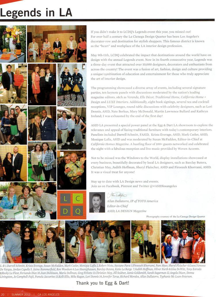 Celebrity Interior Designer Lori Dennis LA Design Magazine
