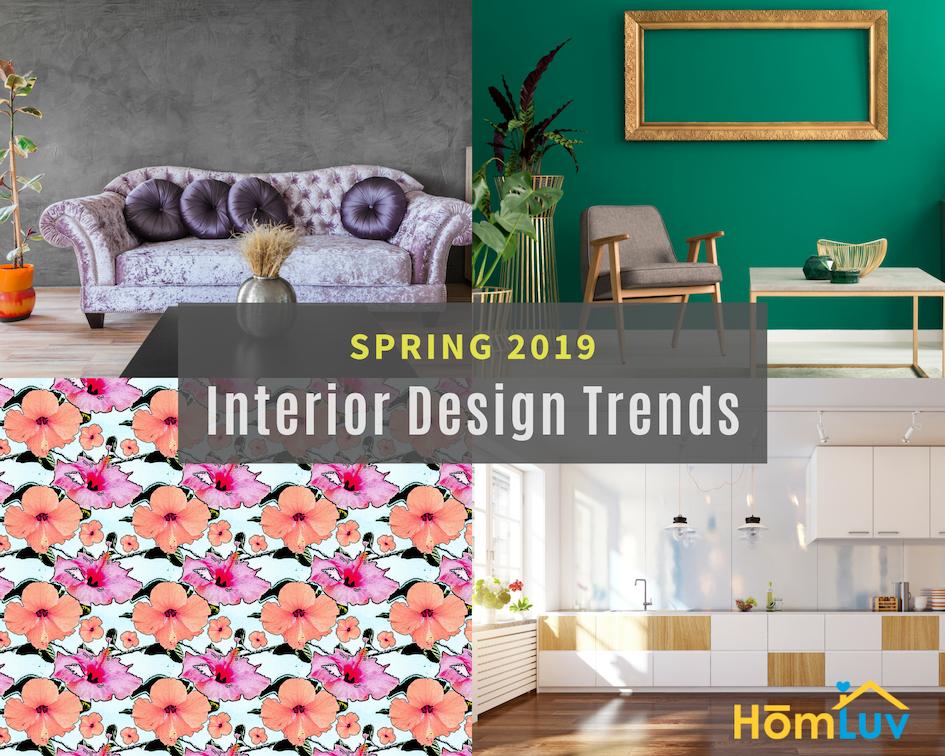 Spring INterior Design Trends 2019